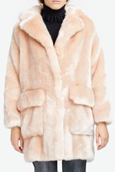 Paul Joe Women S Faux Fur Coat Boutique1 Pink