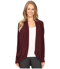 Lucy Enlightening Wrap Fig Women's Long Sleeve Pullover Brown