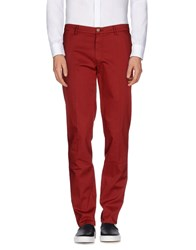 Tru Trussardi Trousers Casual Trousers Men Maroon