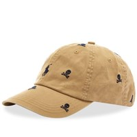 Polo Ralph Lauren Skull And Crossbones Baseball Cap Brown