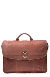 Men's Will Leather Goods 'Kent' Messenger Bag Brown
