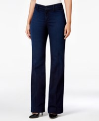 Nydj Teresa Paris Nights Wash Flare Leg Jeans