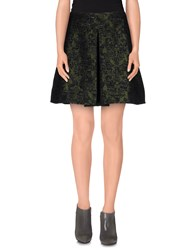 Lou Lou London Skirts Mini Skirts Women Military Green