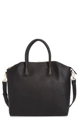 Sole Society Gina Braided Faux Leather Satchel