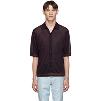 Paul Smith Red Lurex Polo