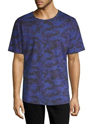 Bertigo Printed Short Sleeve Cotton Tee Multi