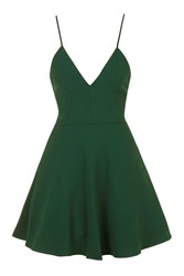 V Neck Prom Dress By Glamorous Petites Green