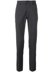 Dondup Slim Fit Tailored Trousers Grey