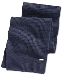 Ryan Seacrest Distinction Ryan Seacrest Waffle Knit Scarf Only At Macy's Navy