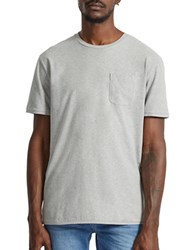 French Connection Short Sleeve Jeans Tee Mid Grey