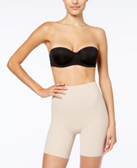 Maidenform Light Control Sleek Smoothers Invisible Power Short Thigh Slimmer 2060 Nude Nude 01