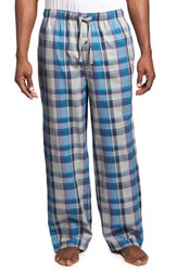 Men's Tommy Bahama Plaid Cotton Lounge Pants