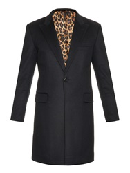 Marc Jacobs Single Breasted Wool Blend Coat