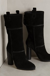 Cynthia Vincent Hype Booties Black