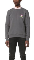 Paul Smith Hot Dog Sweatshirt Grey