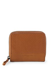 Liebeskind Leather Zipped Textured Wallet Black