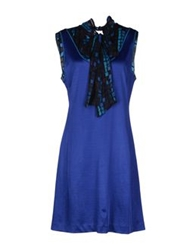 Custo Barcelona Short Dresses Blue