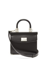 Rodo Paris Small Leather Handbag Black