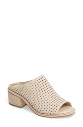Dolce Vita Women's Kyla Perforated Mule Off White