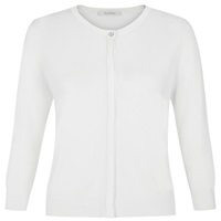 Kaliko Diamante Trim Cardigan Light Neutral