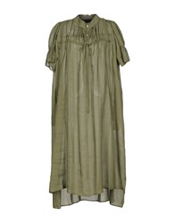 Collection Privee 3 4 Length Dresses Military Green