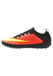 Nike Performance Mercurialx Finale Ii Tf Astro Turf Trainers Total Crimson Volt Pink Blast Black Red