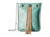 Leather Rock Ce37 Louisiana Nappa Turquoise Vermont Almond Cross Body Handbags Green