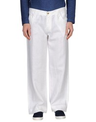 Class Roberto Cavalli Trousers Casual Trousers Men White
