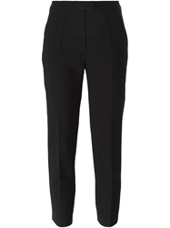Cacharel Cropped Slim Trousers Black