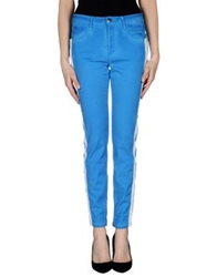 Closed Casual Pants Azure