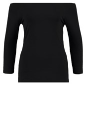 Zalando Essentials Long Sleeved Top Black