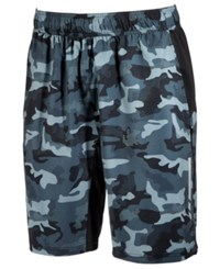 Ideology Id Men's Camo Print Shorts Only At Macy's Black