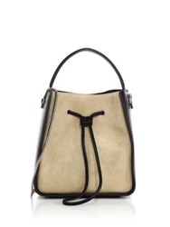 3.1 Phillip Lim Soleil Small Two Tone Suede And Leather Hobo Bag