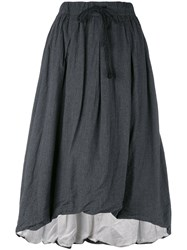 Klasica Pleated Skirt Women Cotton Cupro One Size Grey