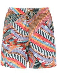 Lygia And Nanny Printed Gil Swim Shorts Multicolour