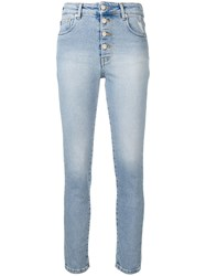 Iro Buttoned Skinny Jeans Blue