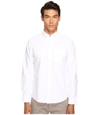 Jack Spade Sheppard Trapunto Solid Oxford White Men's Clothing