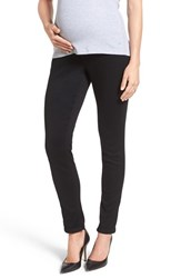 1822 Denim Women's 'Ankle Biter' Over The Bump Rolled Cuff Maternity Skinny Jeans