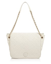 Tory Burch Marion Quilted Small Flap Shoulder Bag New Ivory