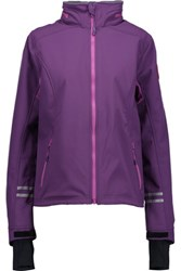 Canada Goose Moncton Shell Hooded Coat Purple