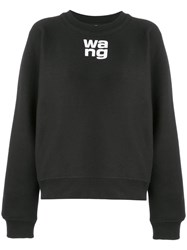 Alexander Wang Classic Jersey Sweater Black