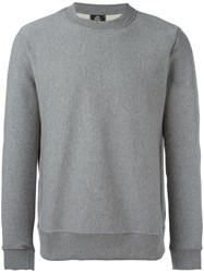 Paul Smith Ps By Crew Neck Sweatshirt Grey