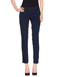 Heavy Project Trousers Casual Trousers Women Dark Blue