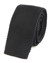 Sandro Navy Knitted Tie