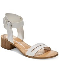 a7712904017 American Rag Alecta Ankle Strap Sandals Created For Macy s Women s Shoes  White