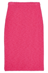 Moschino Cheap And Chic Stretch Boucla Pencil Skirt