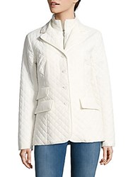 Jane Post Quilted Riding Jacket Blue