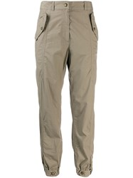 Mr And Mrs Italy Poplin Trousers Green