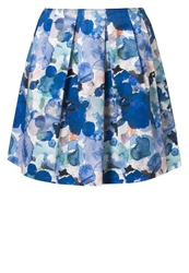 Marc O'polo Pleated Skirt Blue