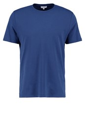 Reiss Bless Basic Tshirt Steel Blue Dark Blue